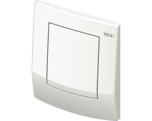 Plaque d''actionnement pour urinoir TECEambia, cartouche comprise, blanche antibactérien 9242140