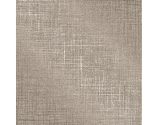 Nappe en toile cirée Monte Carlo Sharon greige 110x140 cm