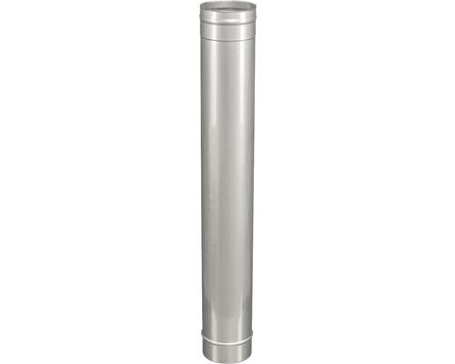 Élément de tuyau Ø 130mm pour système d''évacuation de gaz brûlés à une paroi 1000mm