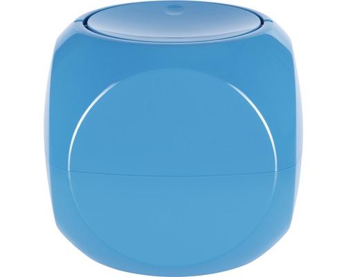 Poubelle à couvercle basculant Spirella Dice 1 litre bleu