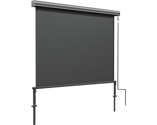 Store banne lateral 1.40x2.5 m anthracite