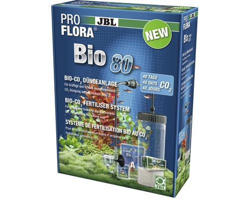 Système de fertilisation en CO2 bio JBL ProFlora Bio80 2 avec diffuseur en verre