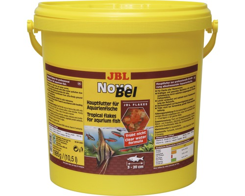 Flockenfutter JBL NovoBel 10,5 l