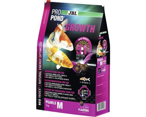 Aliment spécial croissance JBL ProPond Growth taille M 5 kg