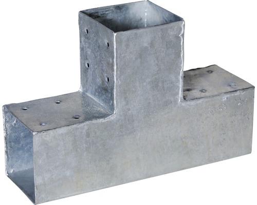 Steckberbinder TYP T für Pfosten 9 x 9 cm, feuerverzinkt