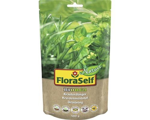 Engrais pour fines herbes FloraSelf Nature BIORGA engrais organique 0,5 kg