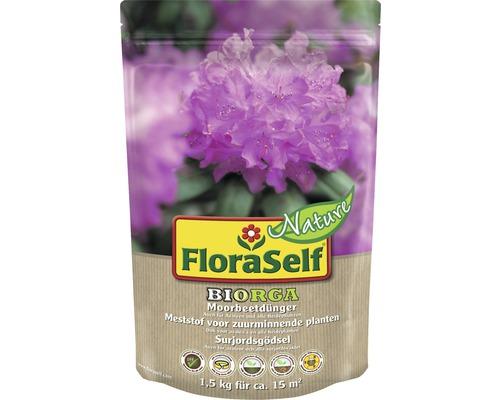 Engrais pour plante de terre de bruyère FloraSelf Nature BIORGA engrais organique 1,5 kg