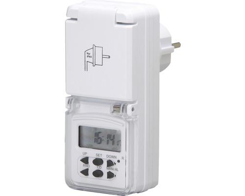 Mini-programmateur hebdomadaire numérique IP44