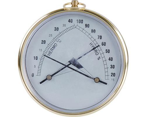 Thermomètre hygromètre bi-métal