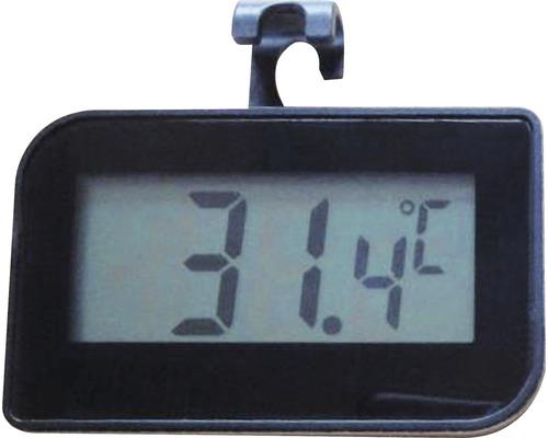Thermomètre numérique, noir
