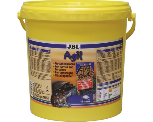 Nourriture pour tortues JBL Agil 10,5 l