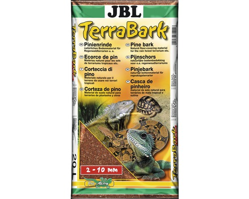 Bodengrund JBL TerraBark 2-10 mm 20 l