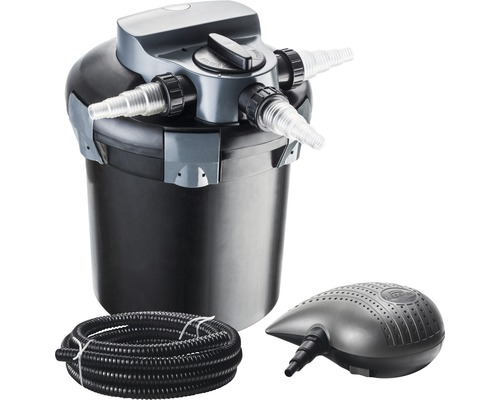 Filtre sous pression, kit pour bassin 7200 l/h avec pompe