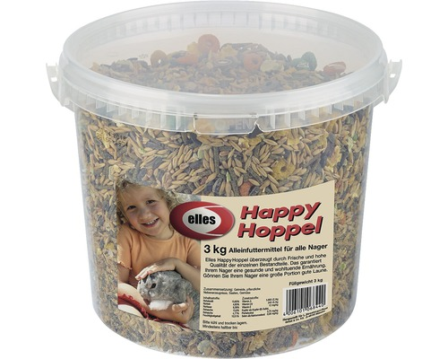 Nagerfutter elles Happy Hoppel 3 kg