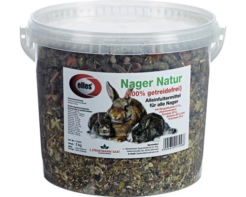 Nagerfutter elles Nager Natur getreidefrei 3 kg