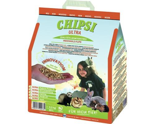Litière pour rongeurs JRS Chipsi Ultra 10 l