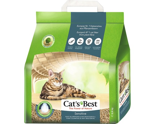 Katzenstreu Cats Best Sensitive 8 l
