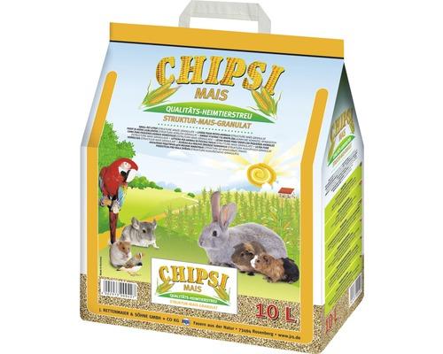 Litière pour animaux de compagnie JRS Chipsi Mais 10 l