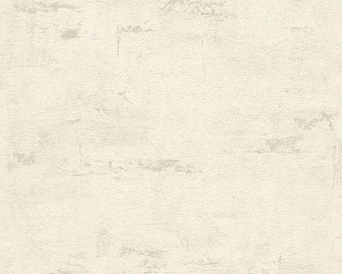 Papier peint intissé 30668-2 Daniel Hechter 4 uni gris clair marbré