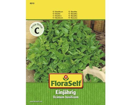 Semences de fines herbes FloraSelf, basilic «annuel»