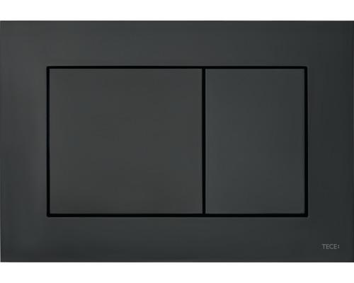 Plaque d''actionnement pour WC TECEnow noire 9240403