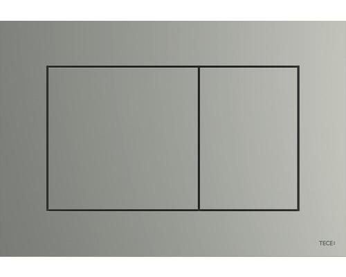 Plaque d''actionnement pour WC TECEnow chrome mat 9240402