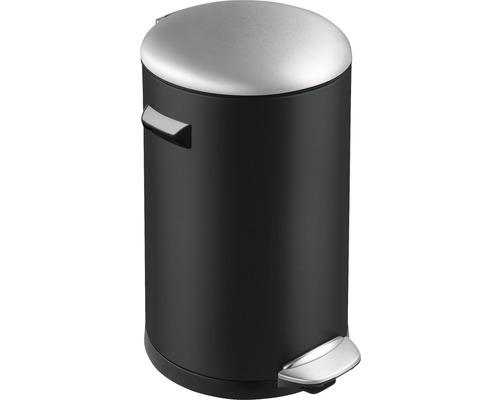 Poubelle à pédale Belle 20 litres noir