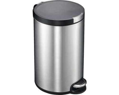 Poubelle à pédale 12 litres acier inoxydable