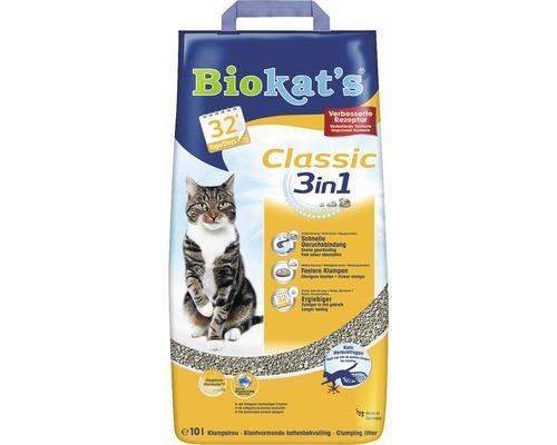Katzenstreu Biokats Classic 3in1 10 l