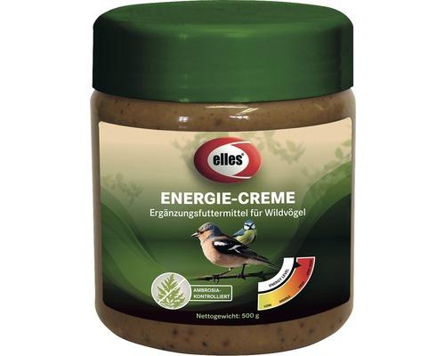 Nourriture d''hiver pour oiseaux elles Energie-Creme, bocal de 500 g