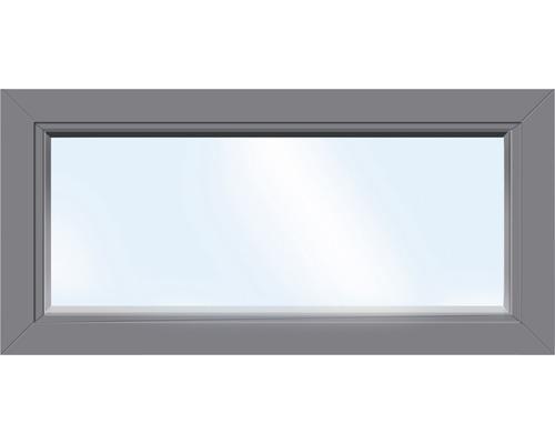 Élément fixe de fenêtre en plastique ARON Basic blanc/anthracite 900x400 mm (non ouvrable)