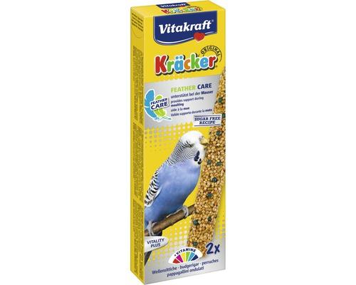 Snack pour oiseaux Vitakraft Kräcker®, mue des perruches, 2 morceaux