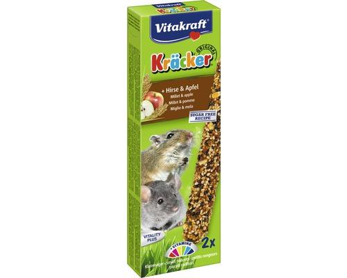 Snack pour rongeurs Vitakraft Kräcker® pour petits rongeurs 2 morceaux.