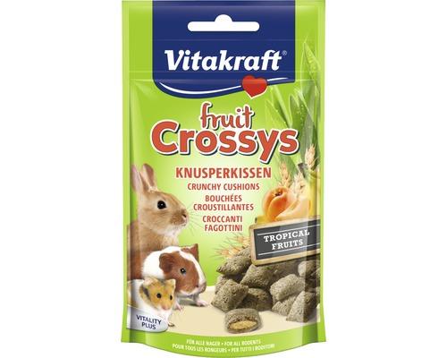 Friandises pour rongeurs, Vitakraft Fruit Crossys pour lapins nains, 50 g