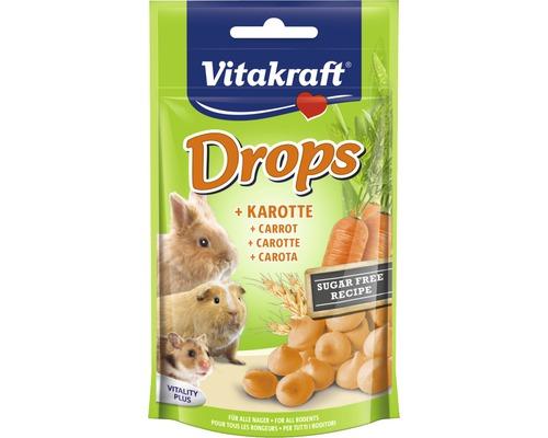 Snack pour rongeurs Vitakraft pastilles aux légumes pour lapin nain, 75 g