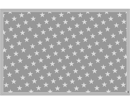 mySPOTTI Vinyl-Bodenmatte buddy Mini Star Grey XL 136x203 cm statisch haftend