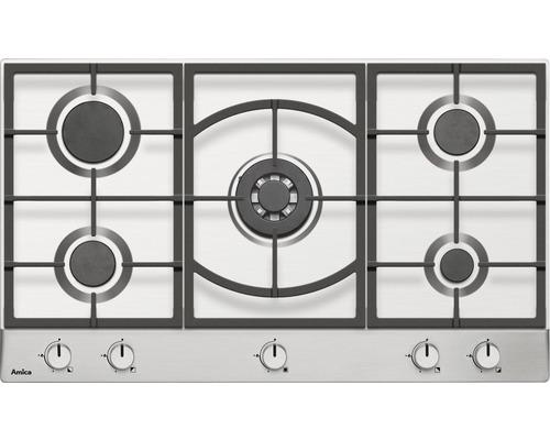 Table de cuisson au gaz Amica KMG 13179 E, largeur 90 cm