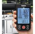 Thermomètre à barbecue Tenneker® numérique avec affichage des niveaux de cuisson