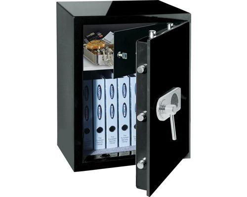 Wertschutzschrank Rottner Design EN1 schwarz