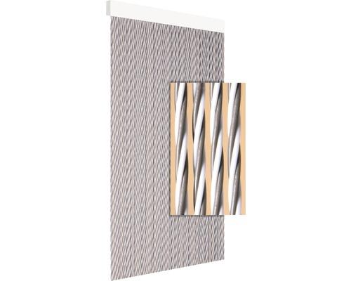 Rideau de porte Dara taupe 90x210 cm