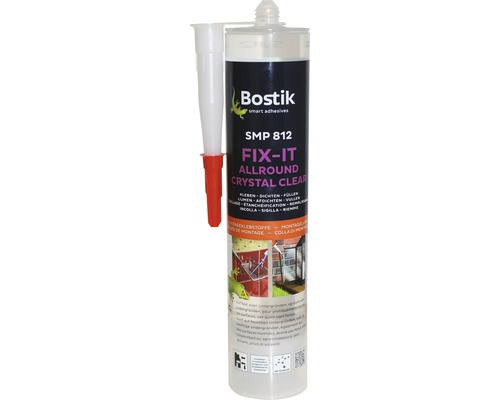 Montagekleber Bostik SMP 812 Fix-It All Crystal Clear 300 g