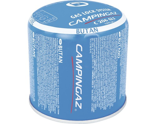 Cartouche de gaz Campingaz C 206 GLS