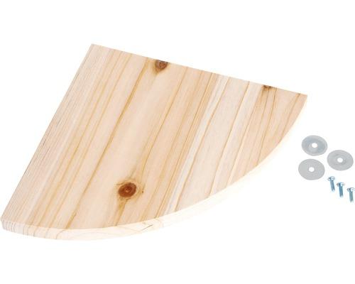 Planche pour s''asseoir Karlie bois véritable 14x14x1,8cm