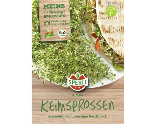 Graines de pousses de cresson bio Alfalfa Sperli