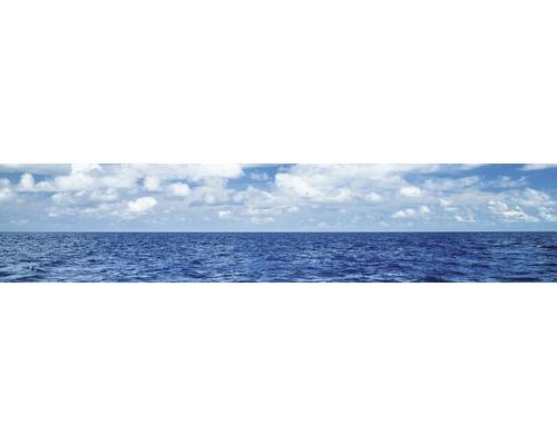 Film adhésif pour paroi arrière de cuisine mySPOTTI splash Horizon 280x60cm