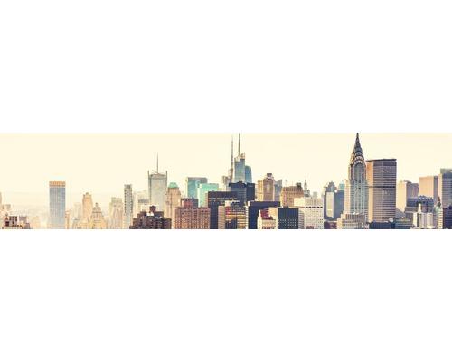 Film adhésif pour paroi arrière de cuisine mySPOTTI splash NY City 280x60cm