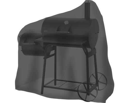 Housse de protection Tepro pour fumoir ovale moyen 73,7x125,7x119,4 cm noir