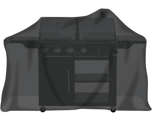 Housse de protection Tepro pour barbecue à gaz 55,9x177,8x129,5 cm noir