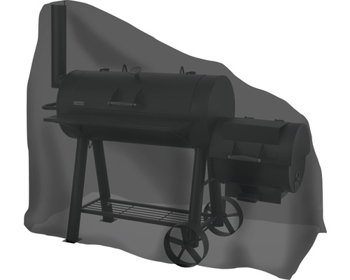 Housse de protection Tepro pour fumoir ovale grand 89x172,2x147,3 cm noir
