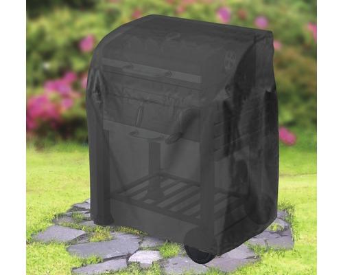 Housse de protection pour chariot de barbecue Tepro ovale 48,3x104,1x101,6 cm noir